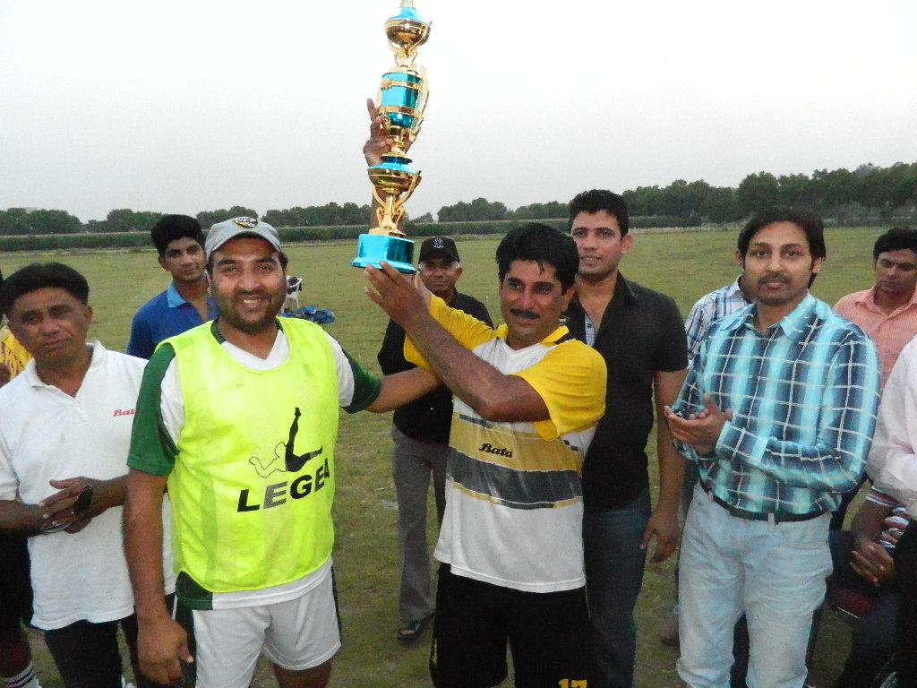 Bata FC win inaugral Punjab college Football club and Academy 11 Side Football tournament