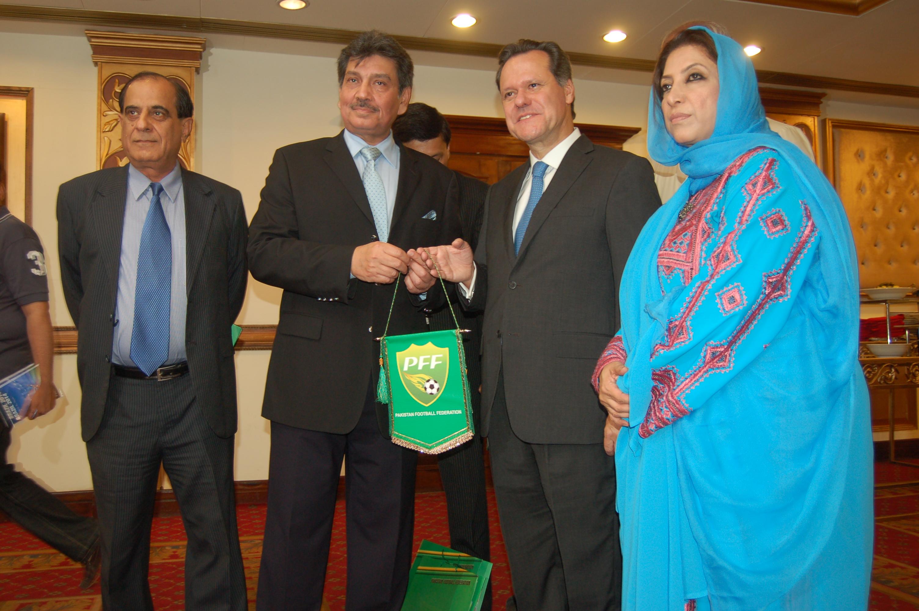 Brazilian Embassy opens Football Gallery Exhibition in Marriott Islamabad
