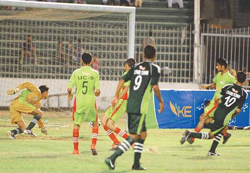 KE-Lyari U-16 League kicks off [DAWN]