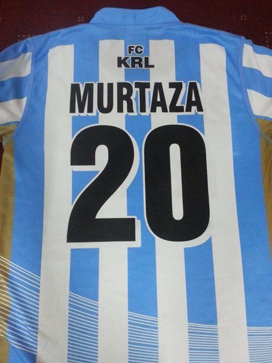Murtaza will wear # 20 for KRL.