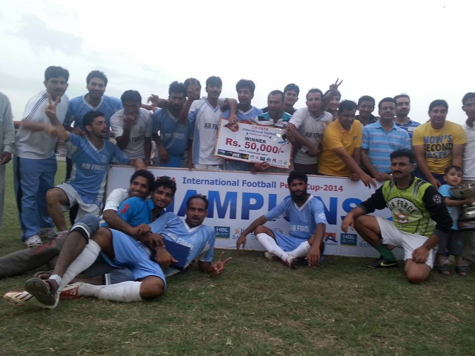 Mujahid helps PAF lift Peace Cup [The News]