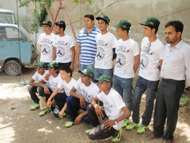 Inspiring others: Street children team start tour to motivate other youngsters [Express Tribune]