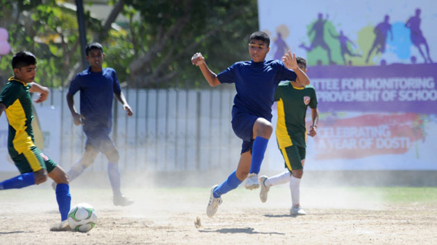 'Dosti': Changing the lives of children through football