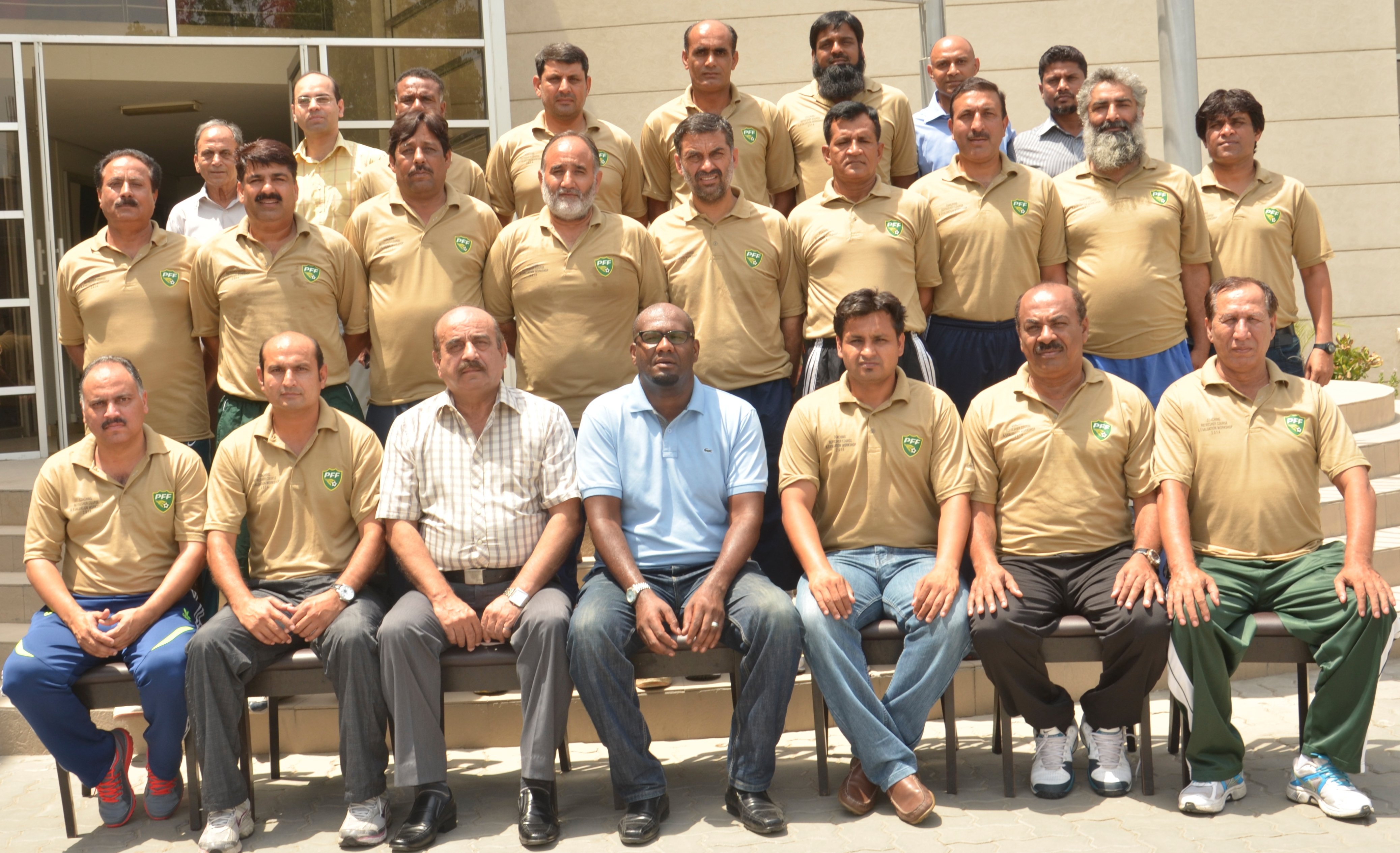 PFF conclude refresher course in Lahore