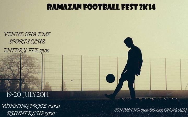 EME Ramadan Football Tournament set to start from 19th July