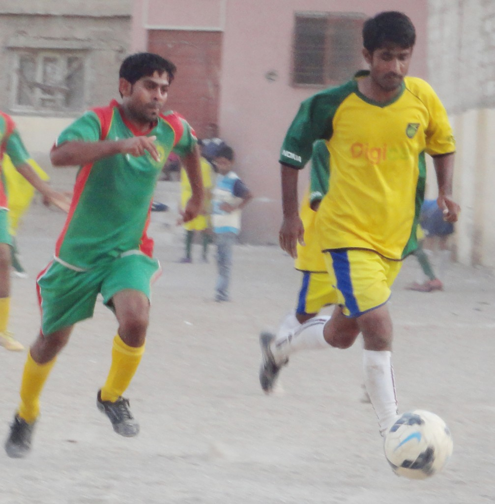 Sindh Baloch vs Lyari Mohdn in actiion