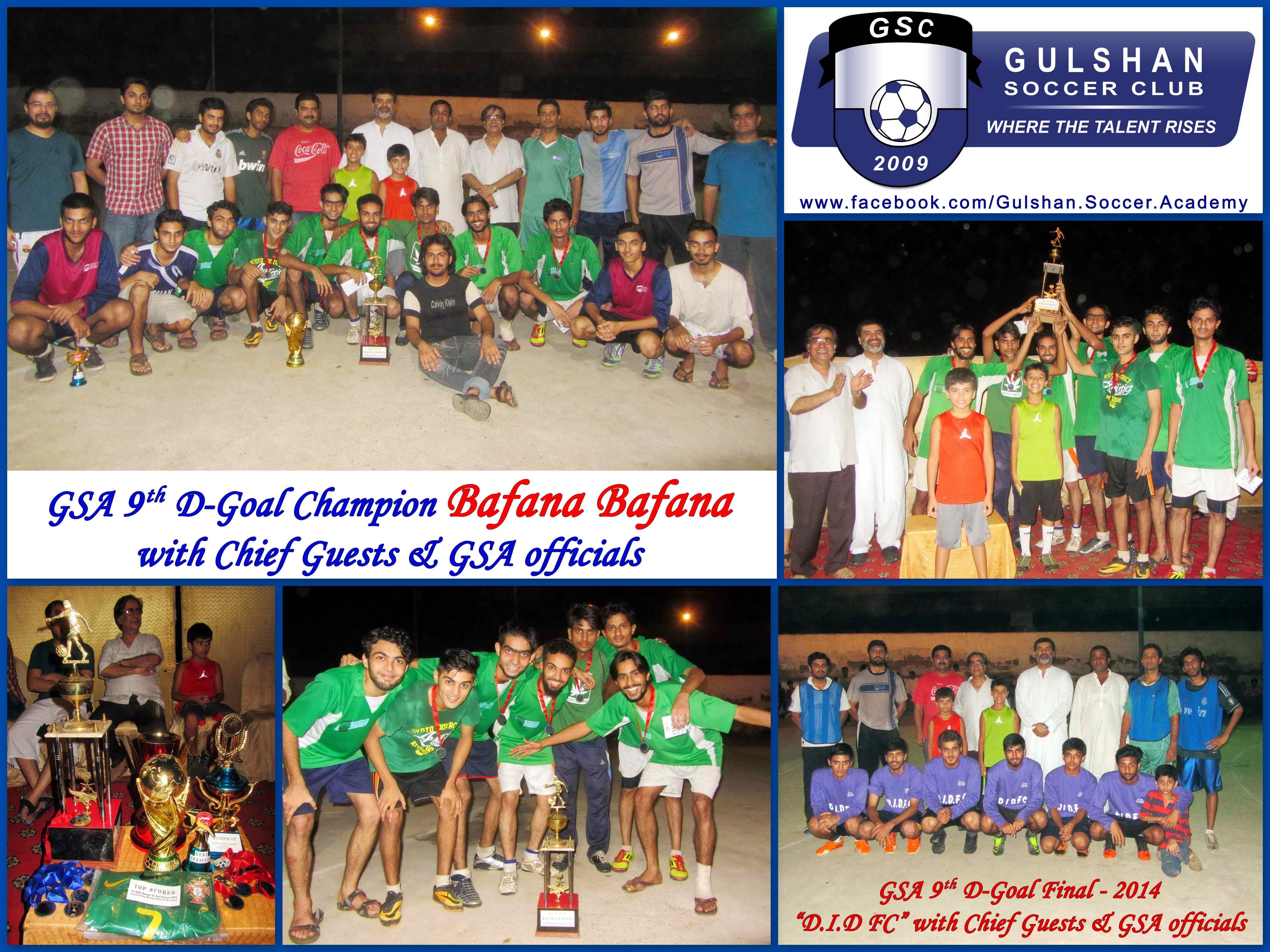 Bafana are Champions – 9th GSA D Goal Tournament