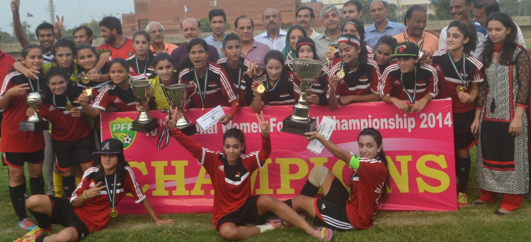 Balochistan United WFC thrash WAPDA 7-0 to win National Women's Championship in style