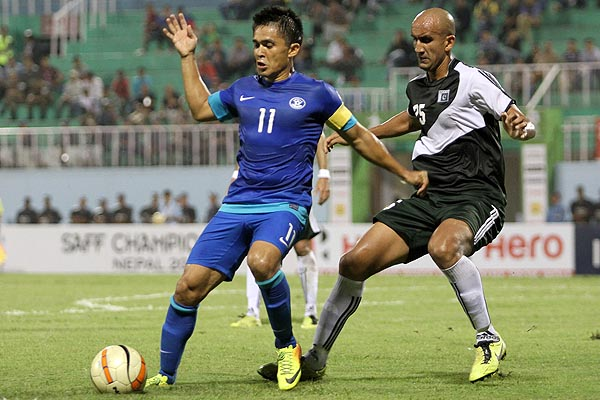 Pakistan only managed to contain Chhetri last year thanks to some brilliant keeping from Yousuf.