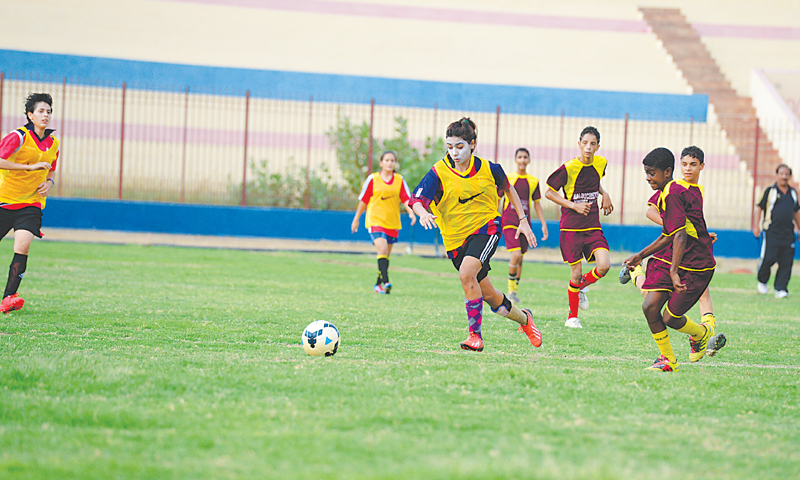 Balochistan United look to transform women's football in Pakistan [DAWN]