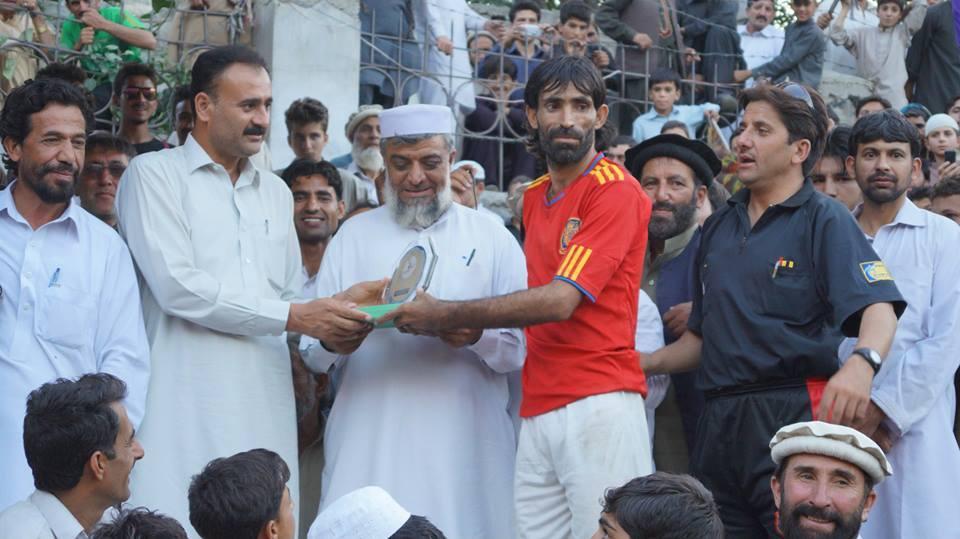 Badshah (Bannu) wins Player of the Tournament