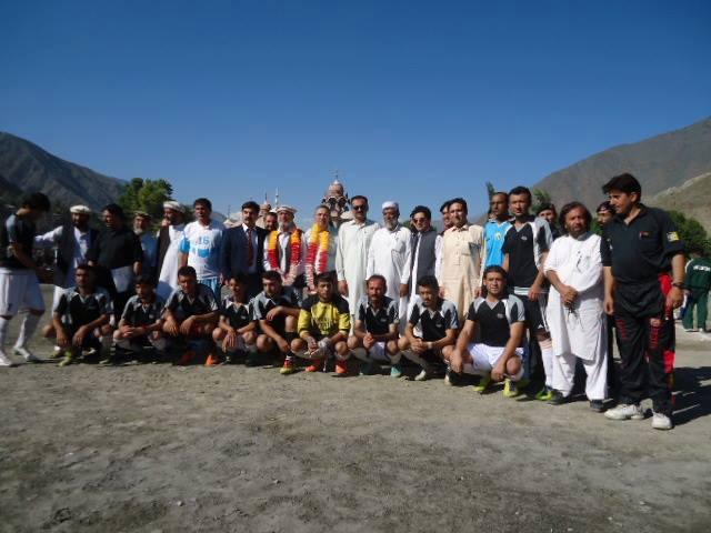 Chitral Dvision team