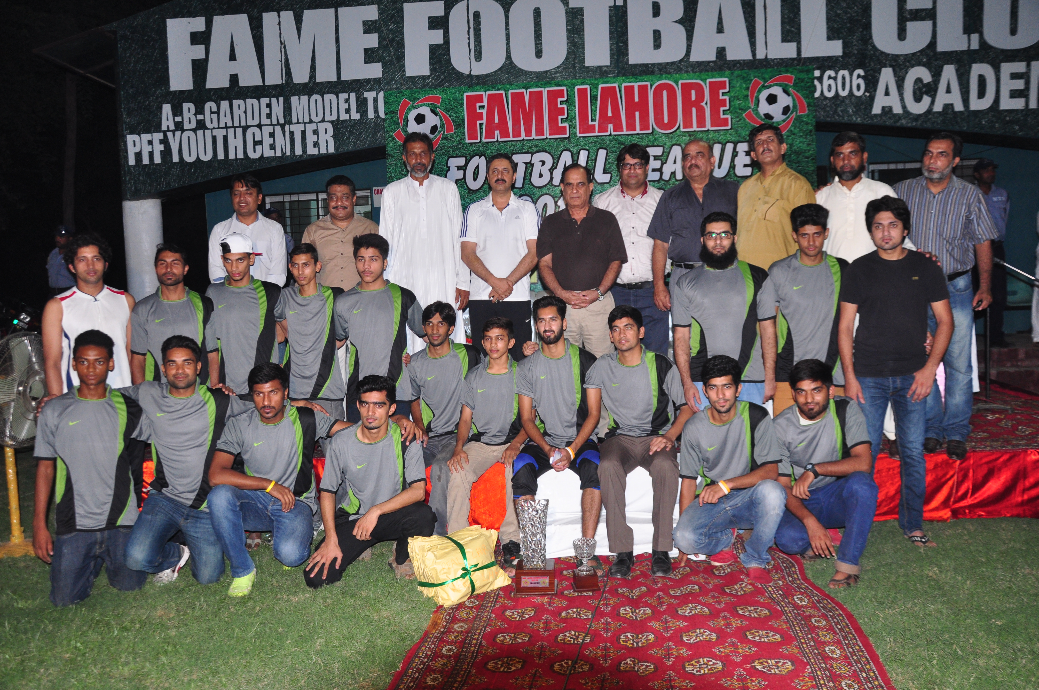 Fame Lahore League Prize Distribution concludes with PFF General Secretary as Chief Guest