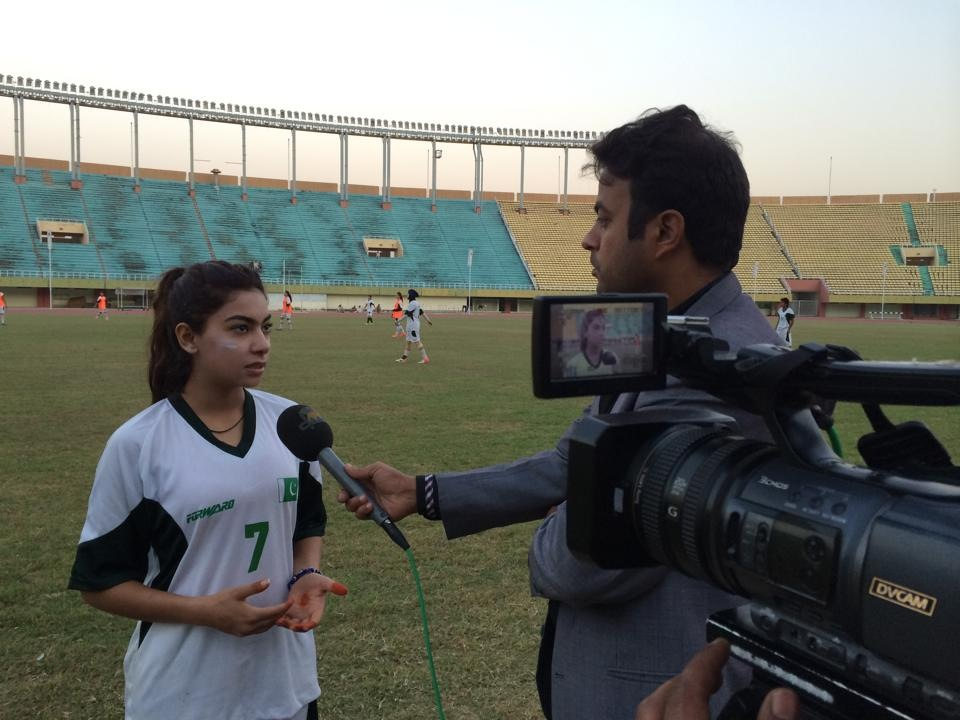 Matchday Exclusive with Shahlyla Baloch: 5 Questions-5 Answers