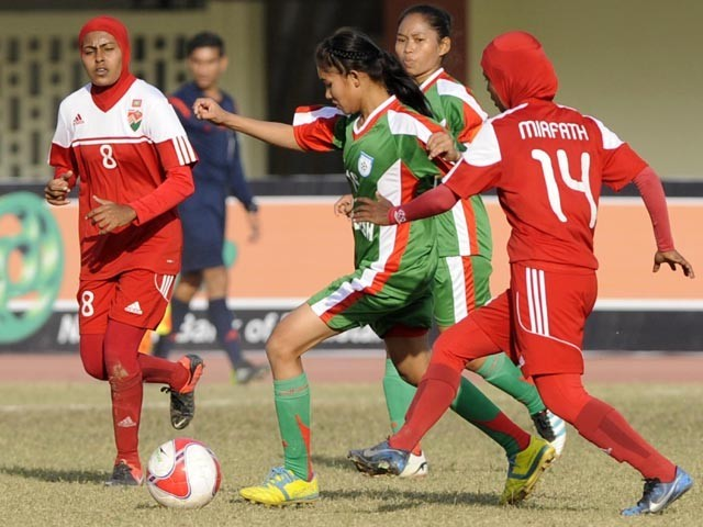 SAFF Women Championship semi-finalists decided as India thrash Afghanistan 12-0