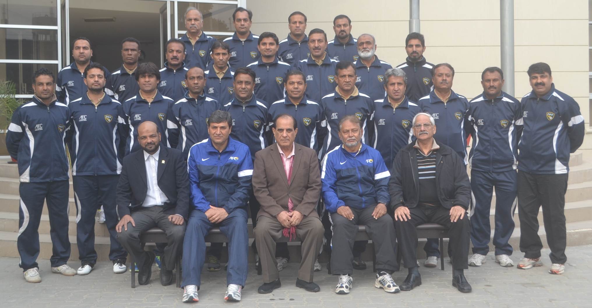 AFC 'B' Licence coaching course concludes in Lahore