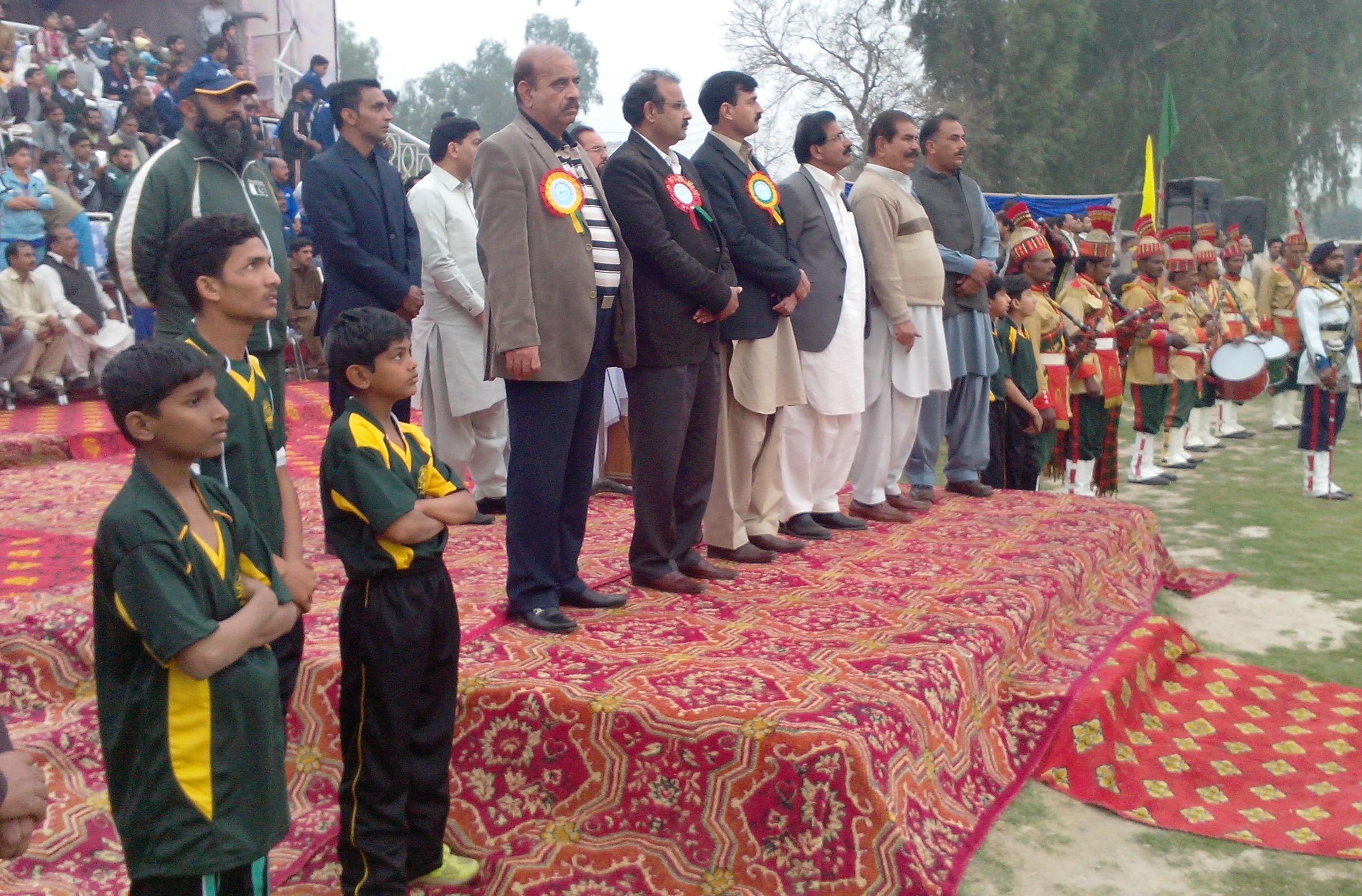 U-14 National Championship kicks off in Khanewal
