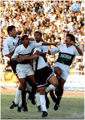 Pakistan vs Iraq in Irbid, Jordan. May 1993, FIFA World Cup qualifiers