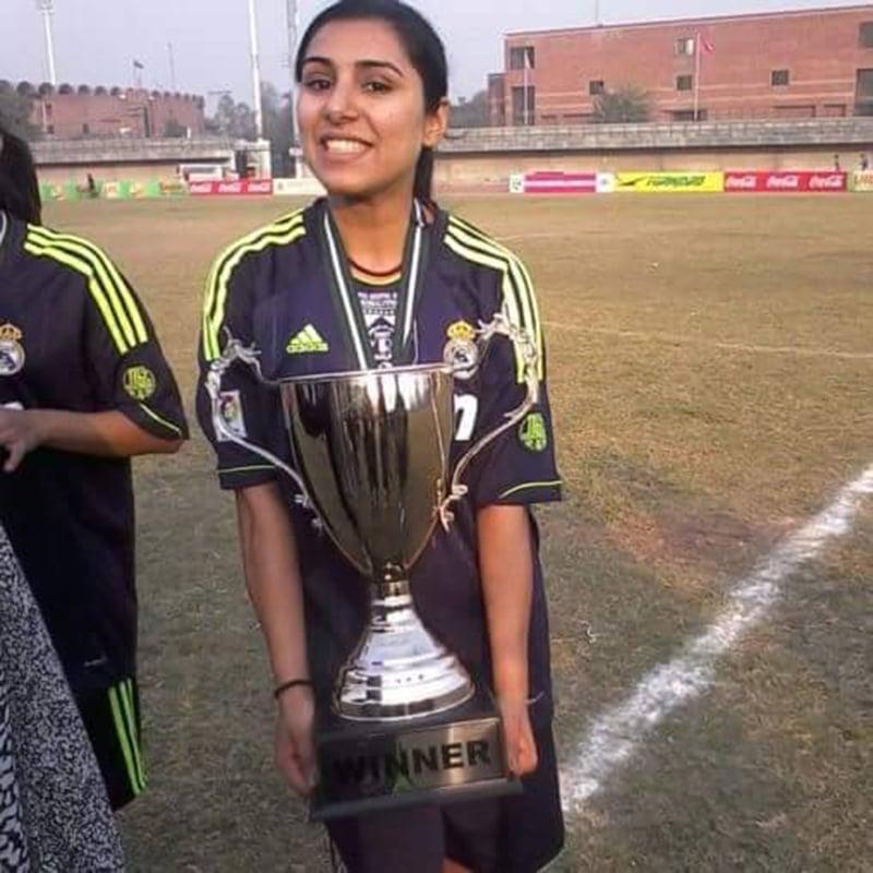 Faiza Mahmood — One player, three goal posts [DAWN]