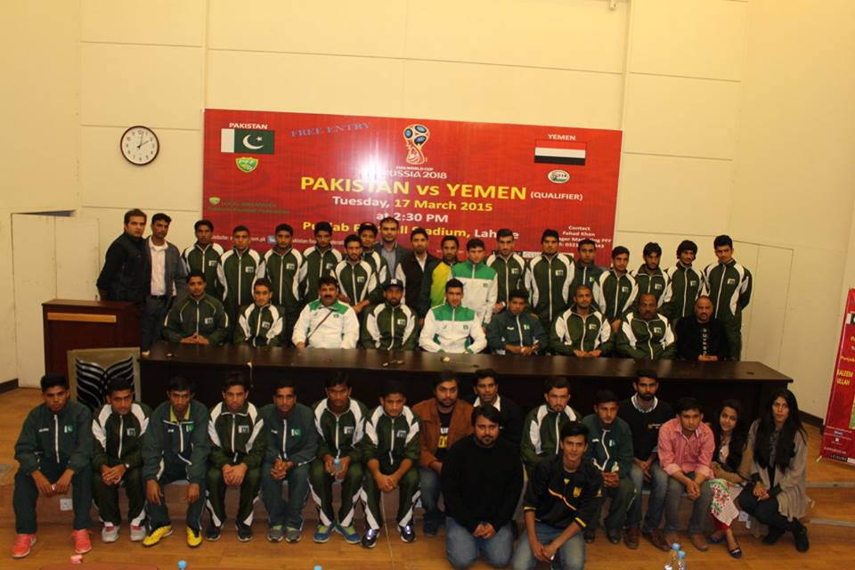 Pakistan departs for Qatar ahead of World Cup qualifier with Yemen
