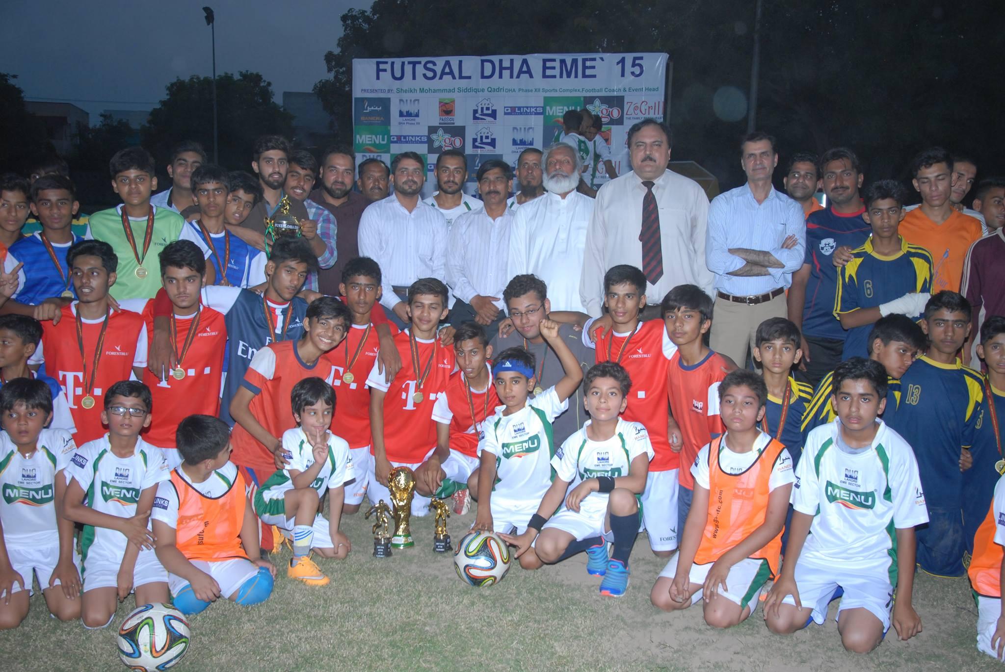 Dha Eme Futsal 2015 Final Match and Prize distribution