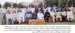 group photo with MPA Anwar Raza