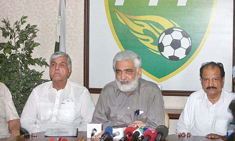 'Conspirators still trying to damage Pakistan football' [The Nation]