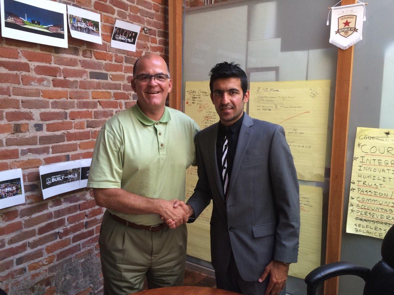 US Adventure: Kaleem signs with Sacramento Republic