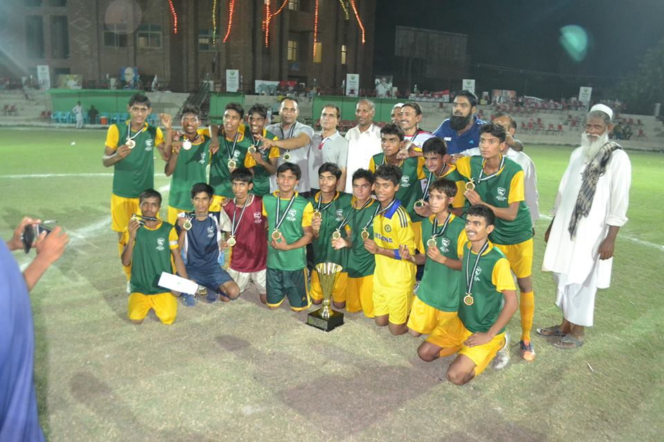 Faisalabad-Sahiwal Zone crowned U16 champions [The News]