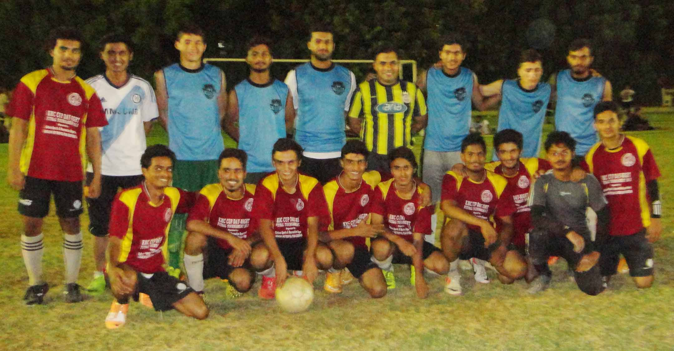 Hameed and Kamran score Hattrick