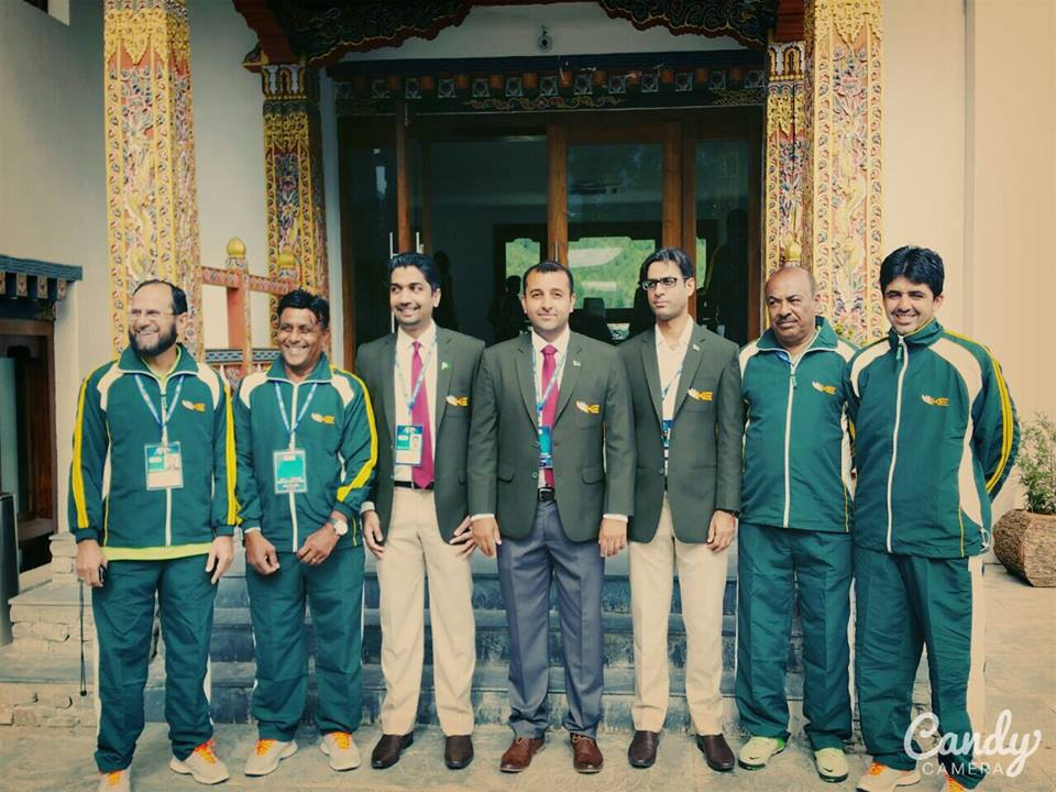 K-Electric coaching staff in Bhutan for AFC Cup 2016 qualifiers