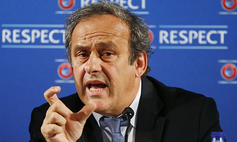 'South Asia to back Platini in FIFA vote' [Reuters]