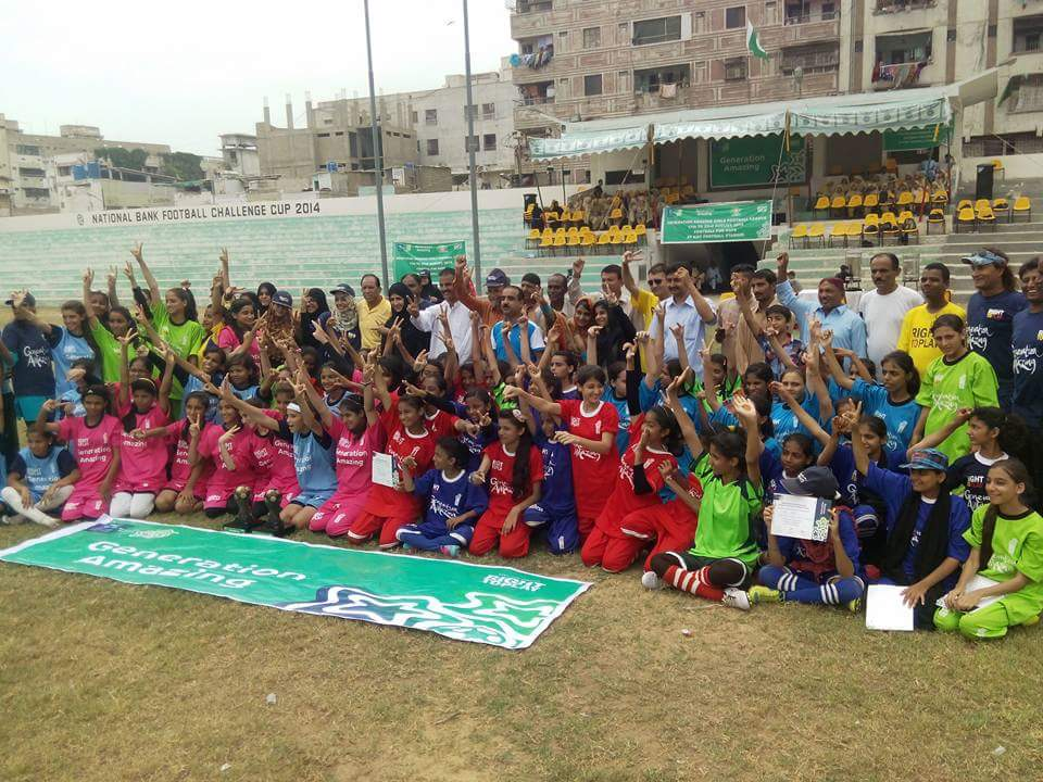 Generation Amazing Girls youth Football League