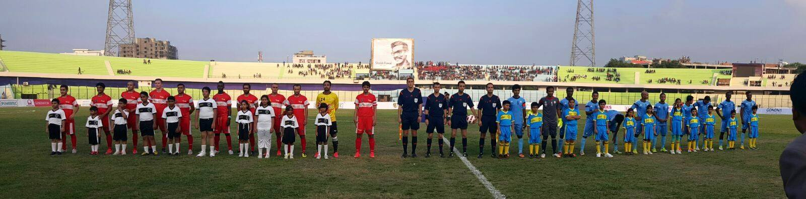 KE lose 3-2 to Dhaka Abahani in opener [Express Tribune]