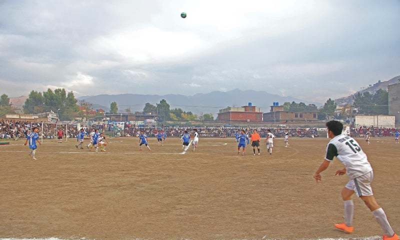 Passion for football sees thousands turn up for final of local tournament [Dawn]