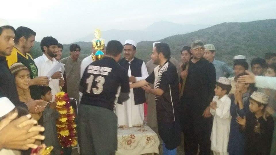 Young Jamrud win football tournament in Peshawar