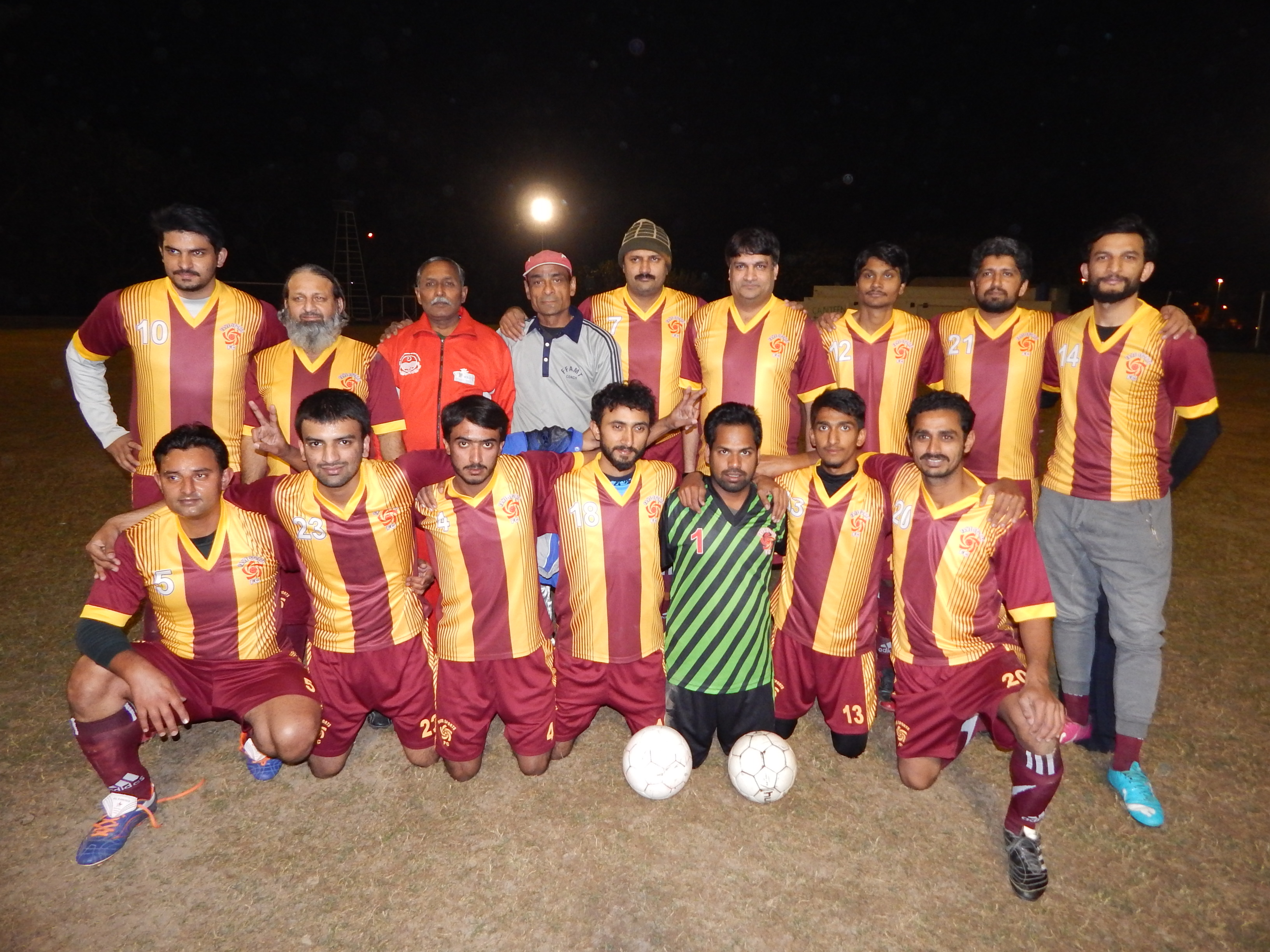 2nd Fame Football League-2015(2nd FFL-2015) | Quaid Manga FC Defeated Young Union FC [Press Release]