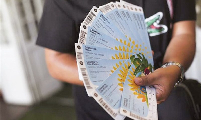 Documents show PFF sold 2014 World Cup tickets at inflated prices [Dawn]