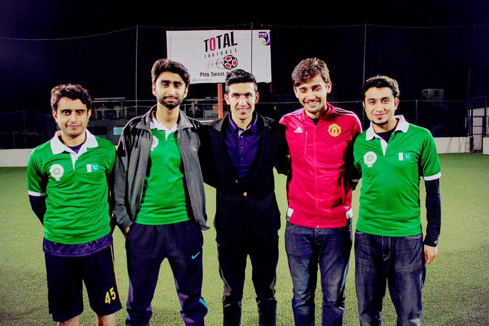 Kaleemullah & FPDC teamed up for their fans at Total Football.