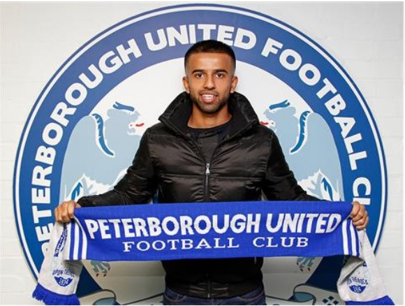 Adil Nabi joins Peterborough United