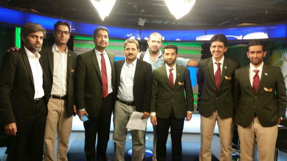 Taha Alizai, Zabe Khan, Shani Abbasi, Muhammad Essa, Irfan Khan at GEO Super Bolein Kya Baat Hai
