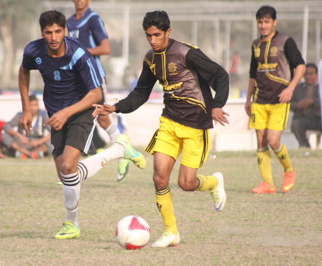 Bhatti United vs Railways - PFF Cup 2016