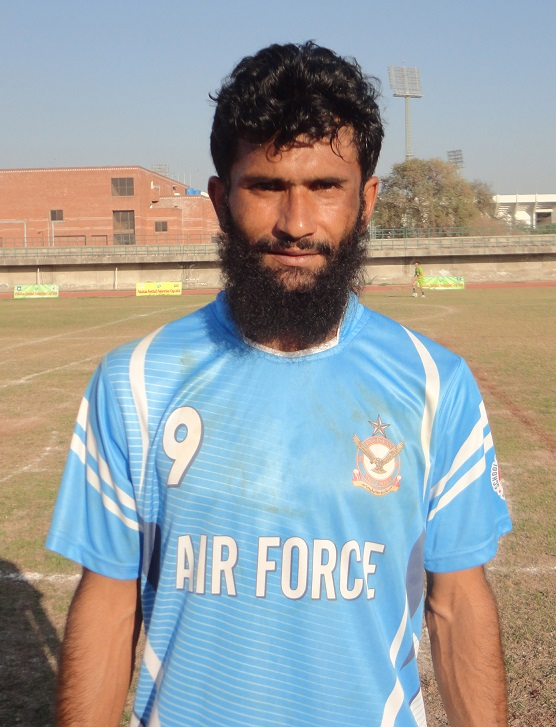 Irfan Ali of PAF scored both goals vs Army in PFF Cup 2016 3rd place game