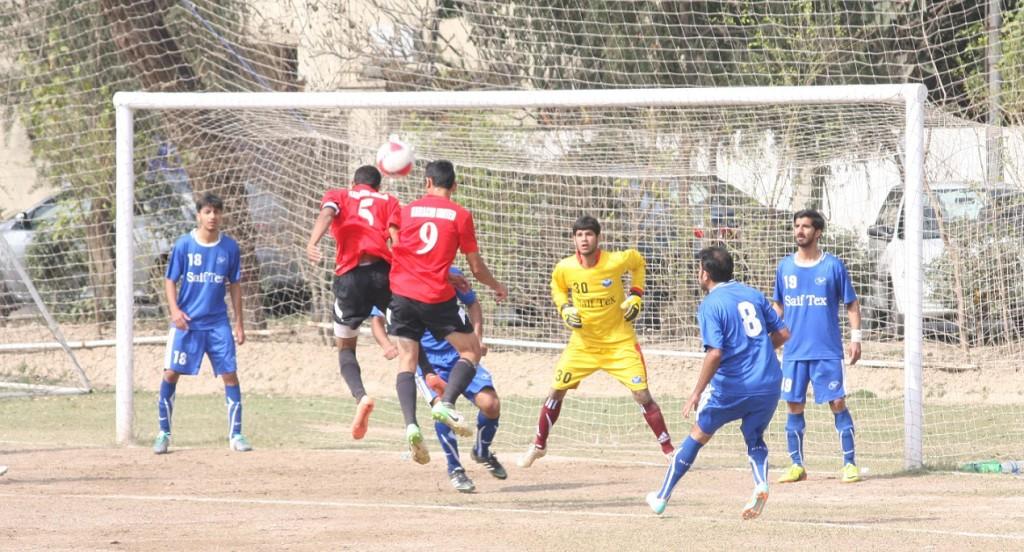 Karachi United vs Saif Textiles