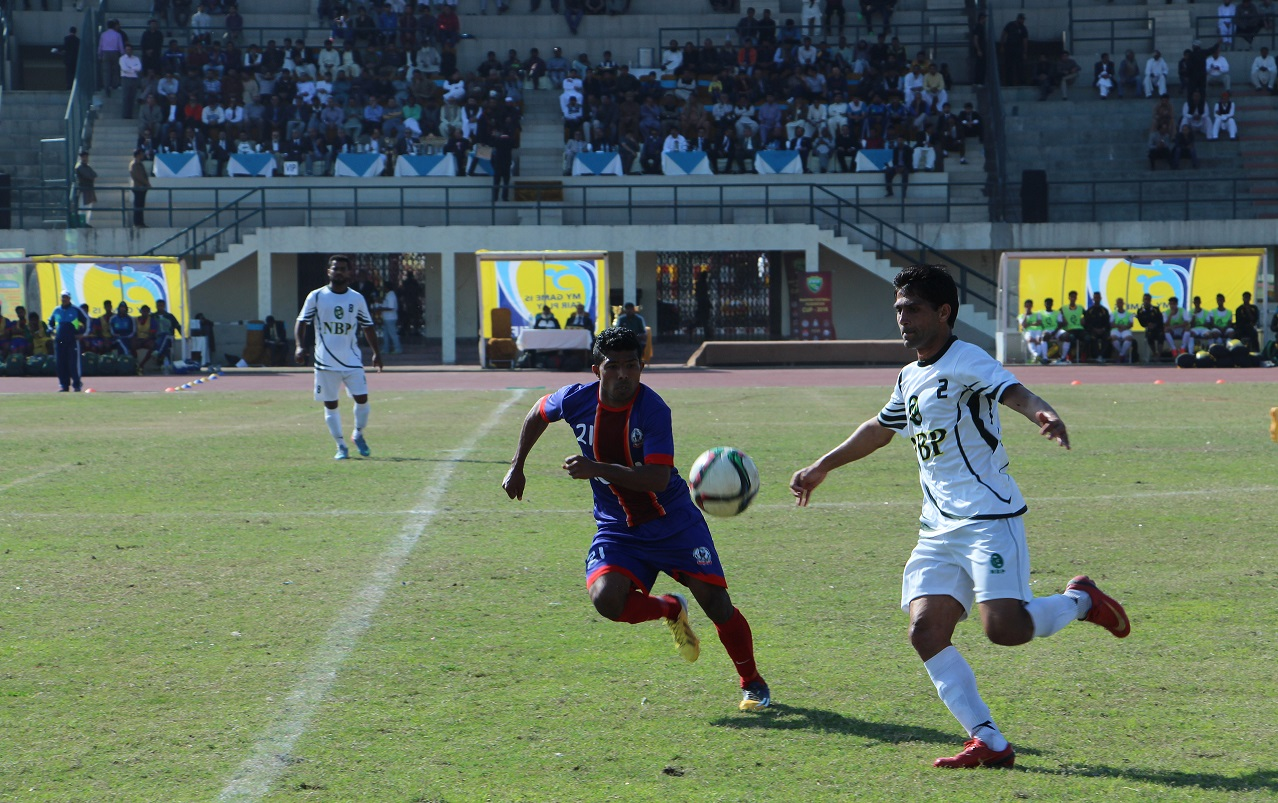 Ahmed's second-half goal helps KRL retain PFF Cup [The News]