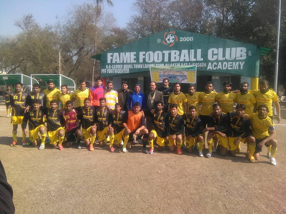 Railways vs Falcon Company - PFF Cup 2016