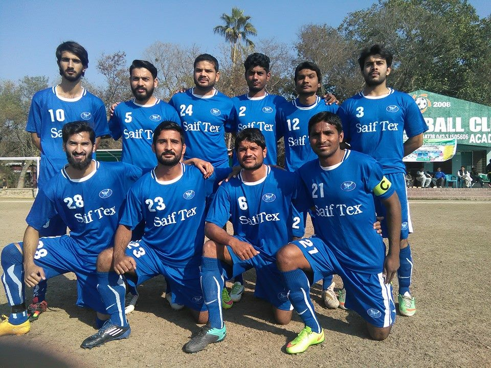 Saif Textiles in PFF Cup 2016