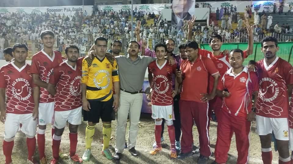 Army celebrate winning Rangers Aman Cup