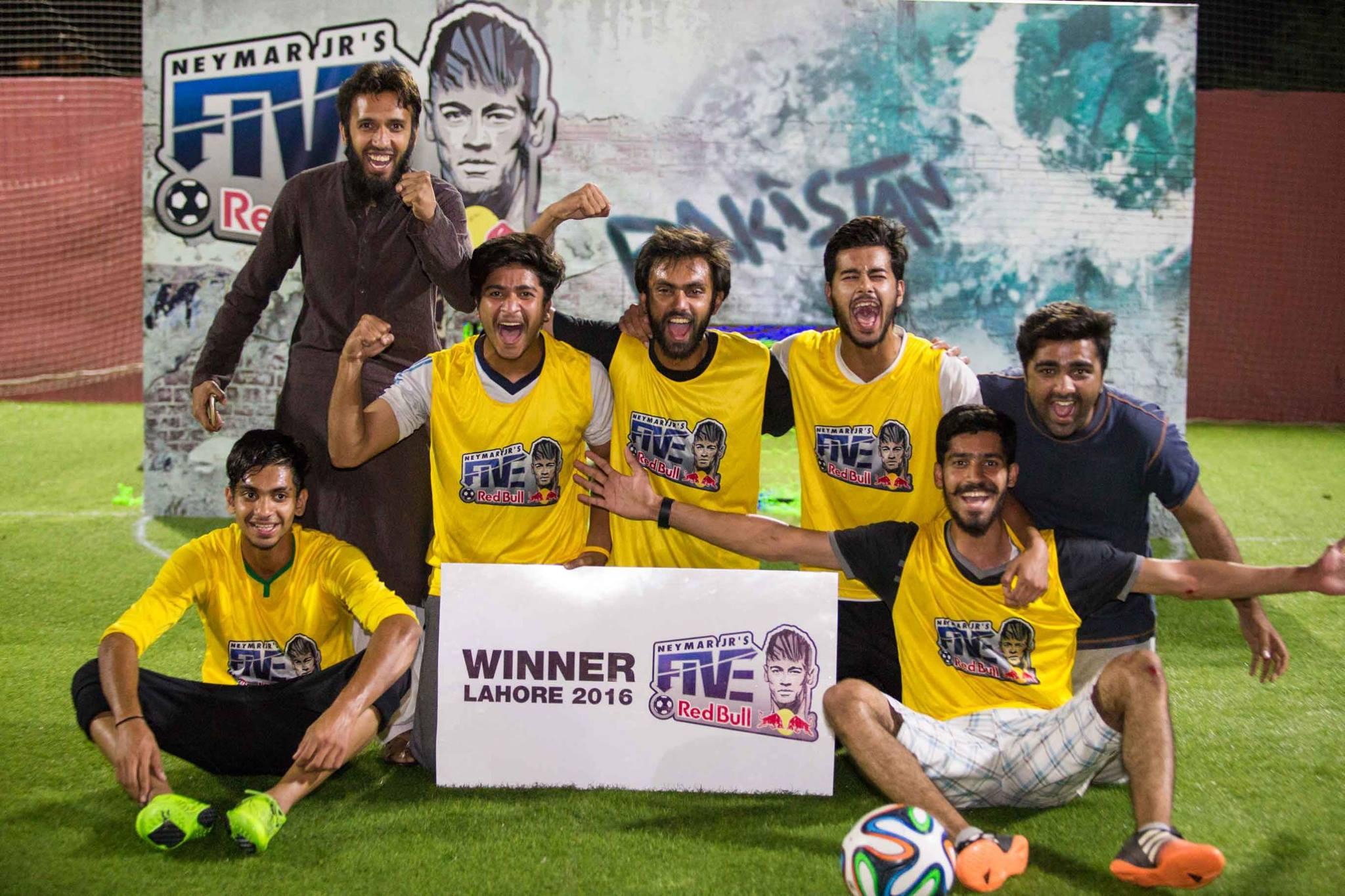 Fantastic Five win Lahore leg of Neymar Jr's Five qualifiers [Dawn]