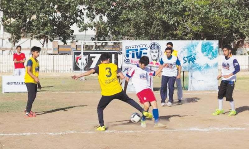 Neymar Jr's Five kicks off in Karachi [Dawn]